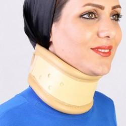 گردنبند طبی سخت (رنگ کرم) طب و صنعت
