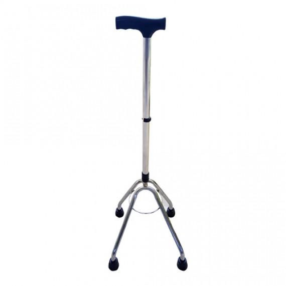 عصا چهارپایه استاندارد کروم